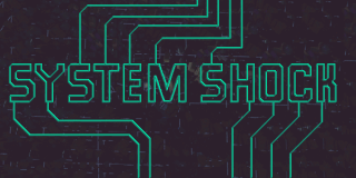 System Shock's Pre-Credit Title Card
