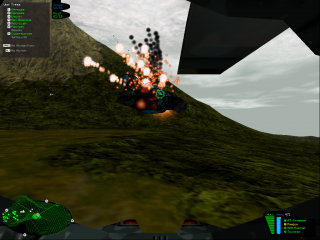 Resource management may be required, but Battlezone still expects the player to fight toe-to-toe with enemy units.