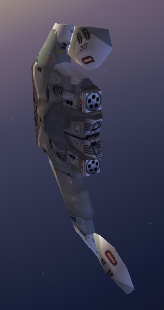 Kushan Cloaked Fighter