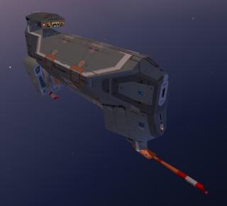 Kushan Ion Cannon Frigate