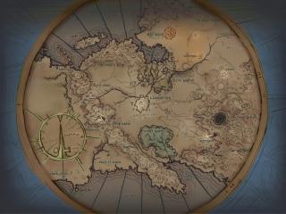 The Myth III World Map