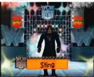 How Many nWo members can Sting take out with his bat this match?