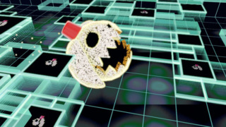 Yes, this is a parody of Pac-Man.