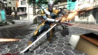 Original Cyborg Ninja (Costume) as it appears in Metal Gear Rising: Revengeance