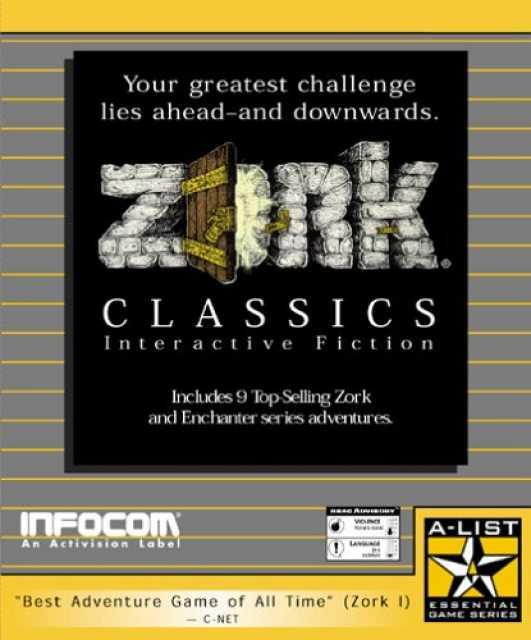 Zork Classics: Interactive Fiction