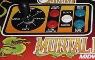 Arcade button layout in the classic