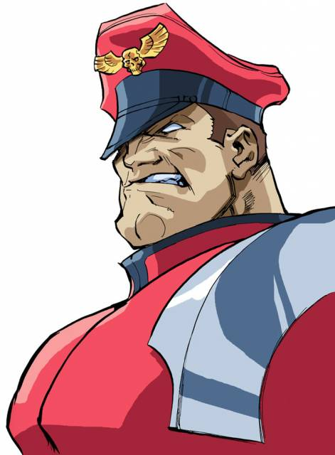M. Bison as he appearers in Street Fighter Alpha 3