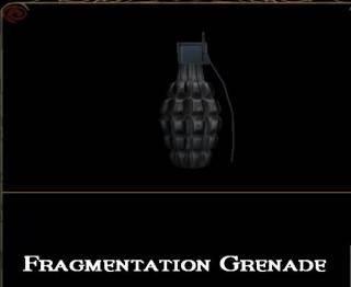 Fragmentation Grenade