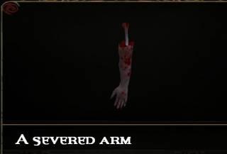 Severed Arm