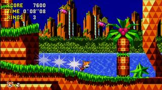 Tails in the downloadable 2011-2012 version of Sonic CD.