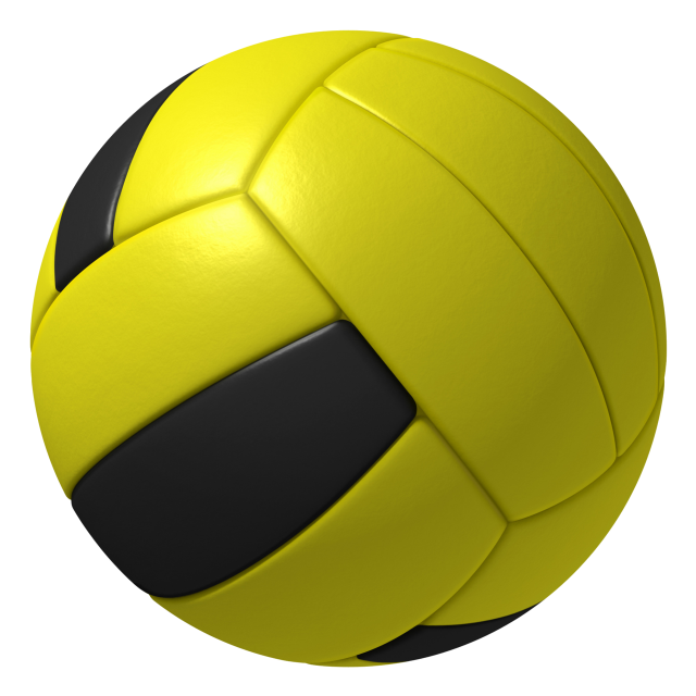 The dodgeball as seen in Mario Sports Mix.