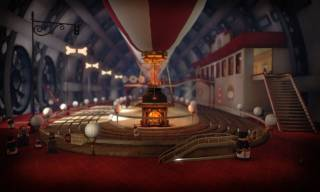 The race tracks aboard the Zeppelin of Consequence.