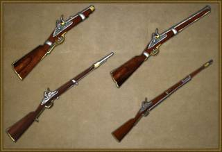Carbines and cavalry muskets
