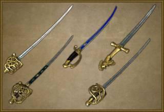 Swords, sabres and butter knives