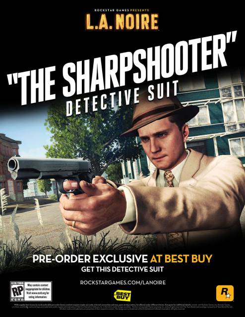 The Sharpshooter Detective Suit