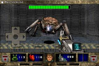One of the game's several bosses