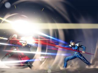 Archer vs Lancer