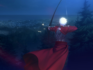 Archer preparing to fire Caladbolg II