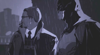 Much of the story is told through motion-graphic cutscenes