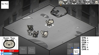 A pre-alpha preview, touting the turn-based combat of the revamped project.