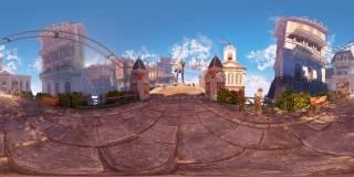 A 360° panorama of Columbia