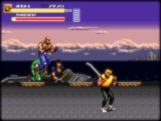 Streets of Rage 3 moves at a faster pace than the other games