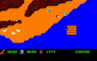Courageous Perseus (1984), the first fully-scaled on-foot open-world game.