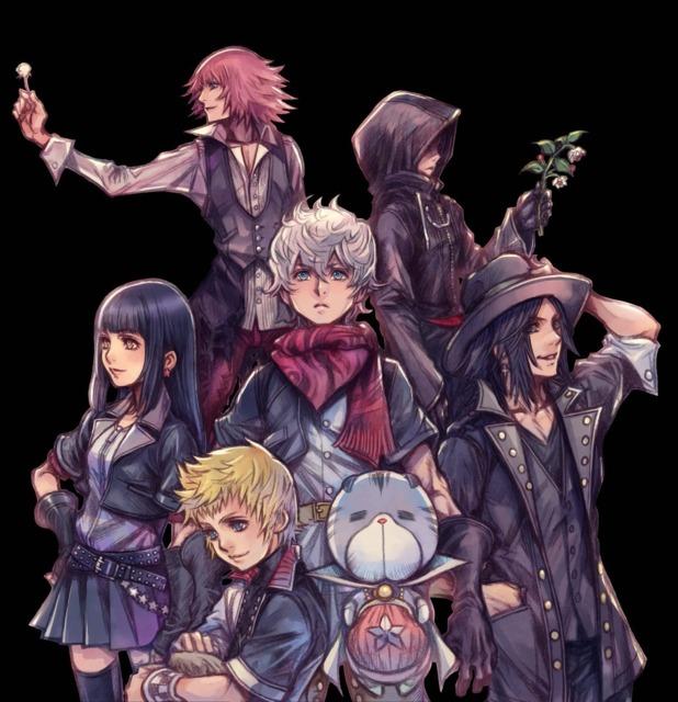 Ventus with his Dandelion Companions