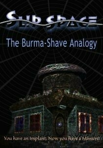 Slip Space: The Burma-Shave Analogy