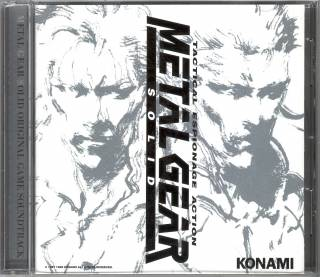 Cover art for the Metal Gear Solid soundtrack