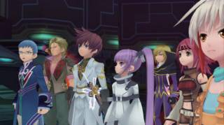 Asbel in Suzaku's Knights of the Round outfit