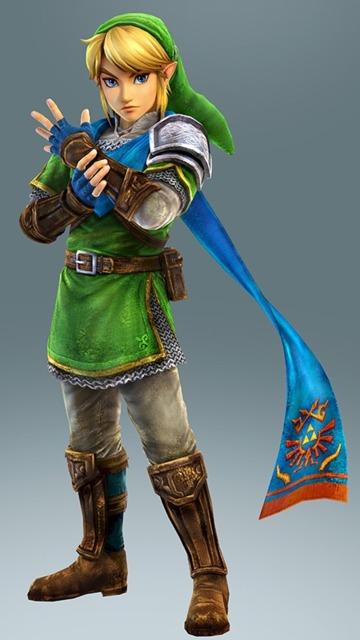 Link's design in Hyrule Warriors.