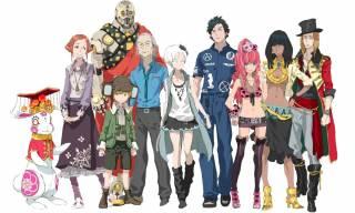 The cast of Virtue's Last Reward.