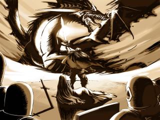 Artemis and Anri vs. Medeus.