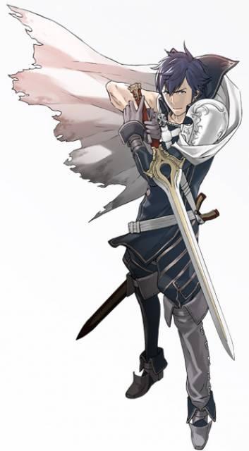 Chrom, the primary protagonist of Fire Emblem: Awakening.