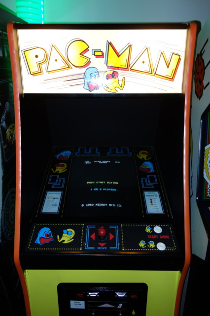 Pac Man before he experimented with LSD in championship edition.