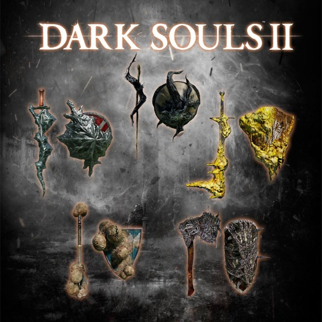 The Black Armor/Weapons Pack