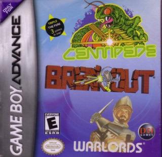 Centipede/Breakout/Warlords
