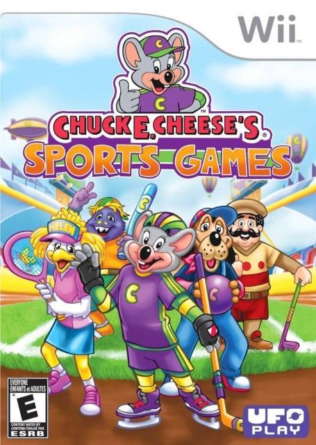 Chuck E. Cheese's Sports Games