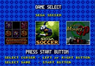 Selecting a game