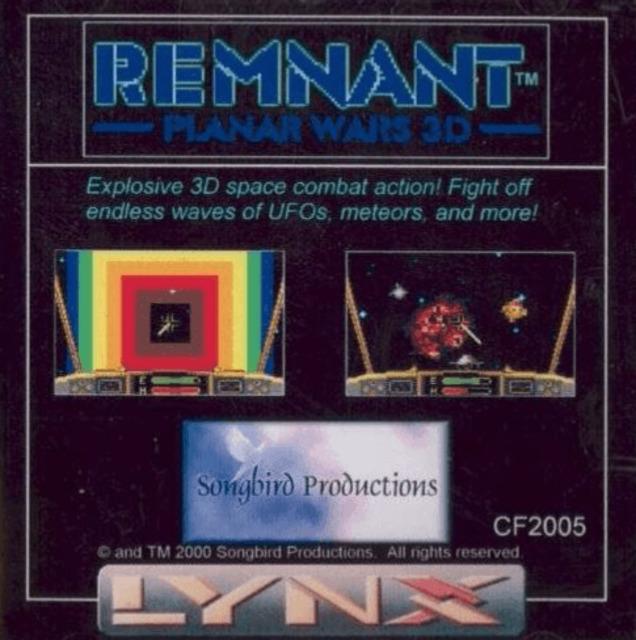 Remnant: Planar Wars 3D