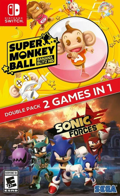 Super Monkey Ball: Banana Blitz HD + Sonic Forces Double Pack