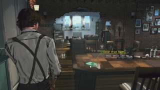 David Young as he explores his apartment.