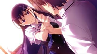 Sakaki Yumiko's attempting to strike Kazami Yuuji.