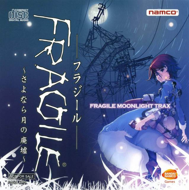 Front cover FRAGILE MOONLIGHT TRAX