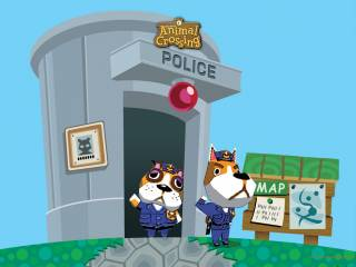 Animal Crossing's local police force.