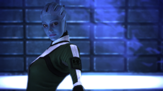 Liara in Mass Effect
