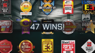 47 E3 Awards Won.