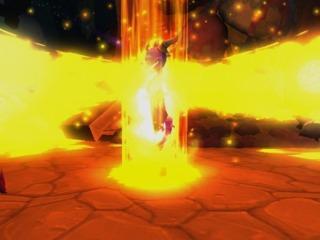 Spyro unleashes a Fury Attack