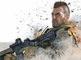Soap is both an NPC and a playable character in Modern Warfare 2
